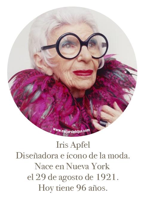 """Mujeres que inspiran mi caminar – """"Iris Apfel"""""""